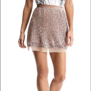 Free People Wild Child Sequin Skirt